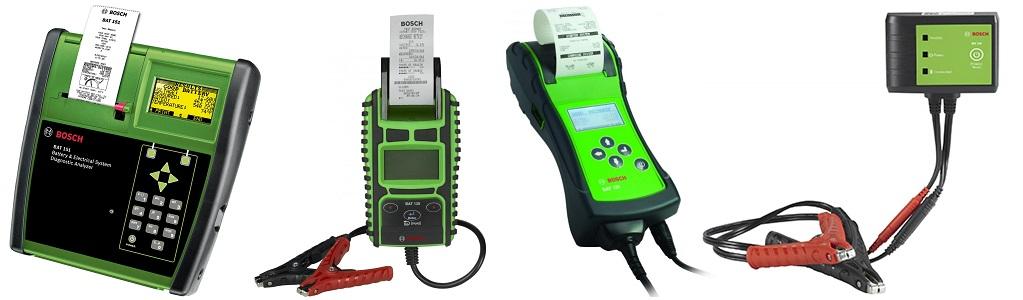 Bosch Battery Testers