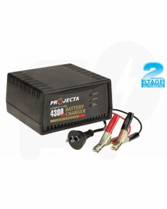 Projecta AC600 Automatic Car Battery Charger 12V 4300mA